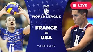 Download France v USA - Group 1: 2017 FIVB Volleyball World League Video
