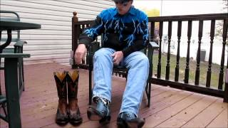 Download Lucchese Classic Handmade Wingtip Cowboy Boots Video