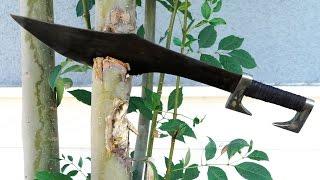 Download Knife making 300 Spartan Sword Video