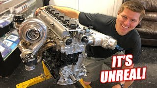Download Cooper's 2JZ Supra Engine is ALMOST Complete! (This thing is INSANE...Might run 8's) Video