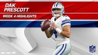 Download Dak Prescott's 3 TD Game vs. Los Angeles! | Rams vs. Cowboys | Wk 4 Player Highlights Video
