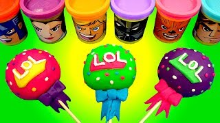 Download Making 3 Ice Cream out of Play Doh Lollipops Colors Song & LOL Surprise PJ Masks Disney Cars Elsa Video