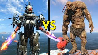 Download Fallout 4 - 50 ASSAULTRON GORGONS vs 30 BEHEMOTHS - Battles #36 Video
