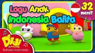 Download Lagu Anak Balita Indonesia | Didi & Friends | 32 Menit Video
