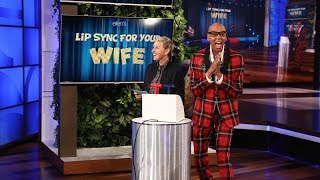 Download RuPaul and Ellen Host 'Lip Sync For Your Wife' Video