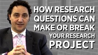 Download How Research Questions Can Make or Break Your Project! Video