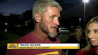 Download Homeless Florida veteran rushes to save victim after life-threatening car crash Video