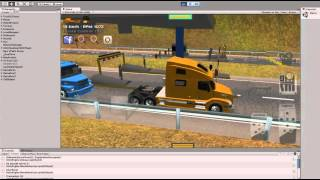 Download Grand Truck Simulator - Testing toll in in multiplayer mode Video