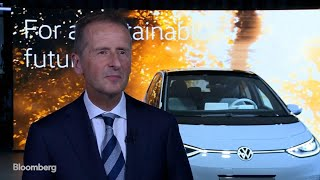 Download VW CEO Herbert Diess Says Infrastructure for Electric Cars Keeps Growing Video