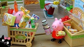 Download Peppa Pig y George hacen la Compra del Supermercado - Vídeos de Juguetes Peppa Pig en Español Video