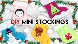 Download How to Make Mini Holiday Stockings! Video