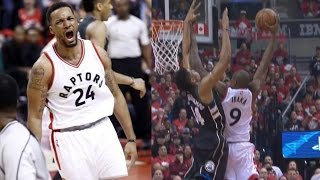 Download Serge Ibaka Dunks on Greek Freak! Powell Dunks on Thon Maker! Bucks Raptors Game 5 Video