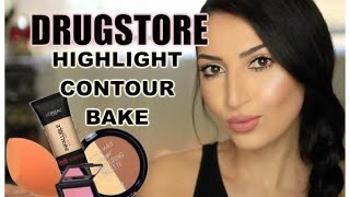 Download DRUGSTORE: Subtle Highlight | Contour | Bake | 2016 Video