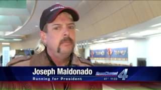 Download Presidential Candidate Joe Exotic Interviewed By KFOR Oklahoma Video