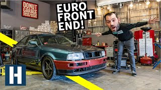 Download Scotto's Audi Coupe Quattro gets a Euro Facelift + Rusty Bolt Battles Video