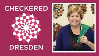 Download Make an Easy Checkered Dresden Quilt with Jenny Doan of Missouri Star! (Video Tutorial) Video