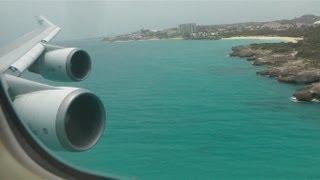 Download St. Maarten KLM Boeing 747 onboard landing (HD 1080p) Video