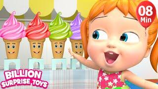 Download One Little Ice Creams |+More BST Kids Songs & Nursery Rhymes Video