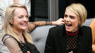 Download Elisabeth Moss & Cara Delevingne on ″Her Smell″ - TIFF 2018 Video