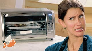 Download Can This Chef Make A 3-Course Meal With A Toaster Oven? • Tasty Video