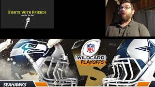Download Seattle Seahawks vs Dallas Cowboys Wild Card Playoffs Livestream Companion Reaction Only Video
