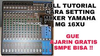 Download Cara Menggunakan Mixer Yamaha Dan Cara Pasang 4 Speaker Pasif + Subwoofer aktif Video
