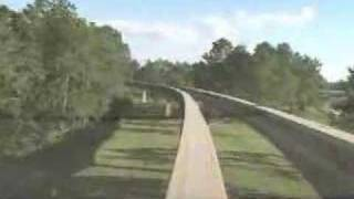Download WDW EPCOT MONORAIL FRONT VIEW Video