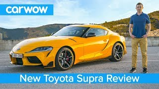 Download Toyota Supra 2020 in-depth review - tested on road, sideways on track and over the 1/4 mile sprint! Video