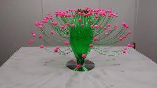 Download Empty Plastic Bottle Vase Making Craft, Water Bottle Recycle Flower Vase Art Decoration Idea Video