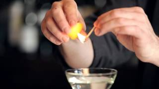 Download How to Flame an Orange Peel - DrinkSkool Bar Techniques Video