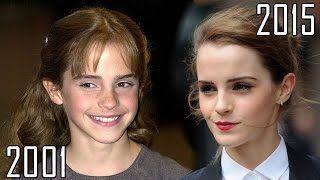 Download Emma Watson (2001-2015) all movies list from 2001! How much has changed? Before and Now! Video