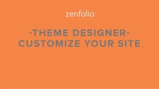 Download How to customize your website's colors and fonts - Zenfolio Theme Designer! Video