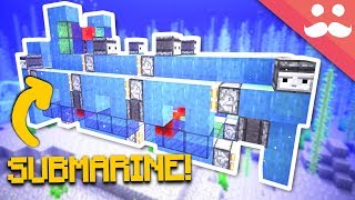 Download Working SUBMARINE in Minecraft 1.13! Video