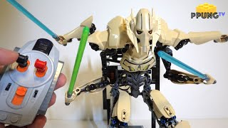 Download LEGO Star Wars 75112 - RC motorized General Grievous review by 뿡대디 Video