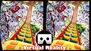 Download 3D Roller Coasters - VR Virtual Reality Vídeo Google Cardboard VR Box Video