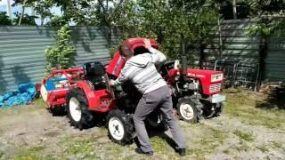 Download Продам. Японский мини трактор 4WD Yanmar Ke 3. Video