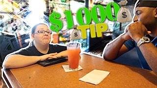 Download TIPPING WAITRESS AND DRIVE THRU WORKERS $1000!! 😱😂 Video