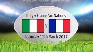 Download ITALY VS FRANCE - Rugby 6 Nations 2017 Video