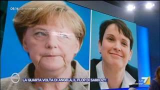 Download Omnibus - La quarta volta di Angela, il flop di Sarkozy (Puntata 21/11/2016) Video