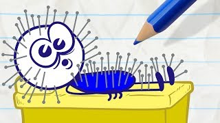 Download Pencilmate Gets Bad Service! -in- DON'T SHOOT THE MASSAGER - Pencilmation Cartoons for Kids Video