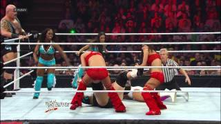 Download Tons of Funk & The Funkadactyls vs. Team Rhodes Scholars & The Bella Twins: Raw, April 8, 2013 Video