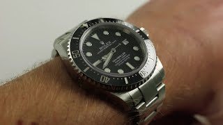 Download Rolex Sea-Dweller 4000 Ref. 116600 Luxury Watch Review Video