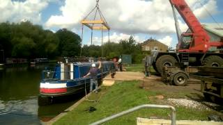 Download 2. Buying a Narrowboat Part 2 Boat Lift and Survey Video