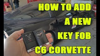 Download How to add a FOB to C6 Corvette (program a new key) Video