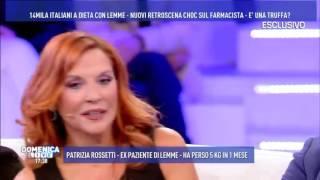 Download Patrizia Rossetti, ex paziente di LEMME. Ospite a DOMENICA LIVE Video