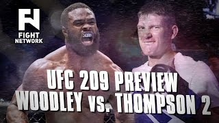 Download UFC 209: Tyron Woodley vs. Stephen ″Wonderboy″ Thompson 2 Preview Video