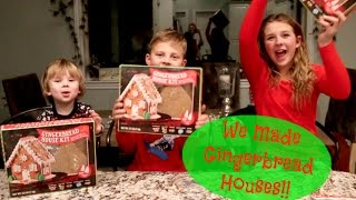Download We Made Gingerbread Houses!! Video