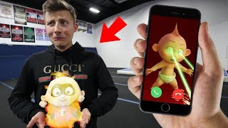 Download CALLING JACK-JACK FROM INCREDIBLES 2 ON FACETIME AT 3 AM!! (HE TURNS TO FIRE) Video