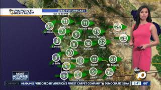 Download 10News Pinpoint Weather for Sat. Apr. 20, 2019 Video