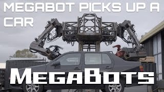 Download MegaBot Mk.III Picks Up A Car! (Season 1) Video